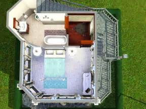 Cottage Floor Plans Small mod the sims victorian speck tiny 10x10 lot with no cc