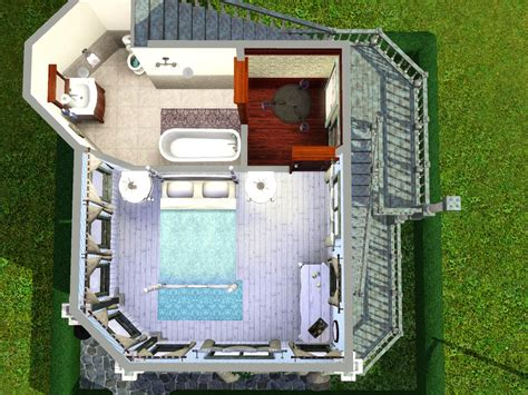 mod the sims victorian speck tiny 10x10 lot with no cc