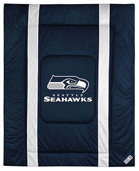 Nfl Seattle Seahawks Queen Comforter Sidelines Football Seahawks Bedding