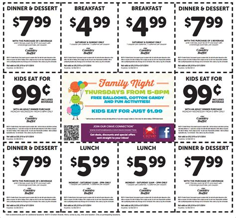 2014 country buffet coupons country buffet big