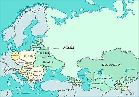 nations of the former ussr map quiz map of iron curtain and ex u s s r former soviet union