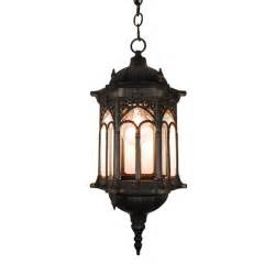 tp lighting black finished outdoor hanging lighting light