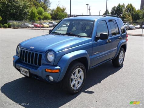 2003 jeep liberty limited 2003 atlantic blue pearl jeep liberty limited 4x4