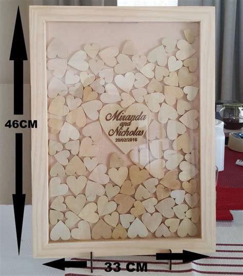 big wedding guest book drop box frame rustic look 100 - Wedding Drop Box