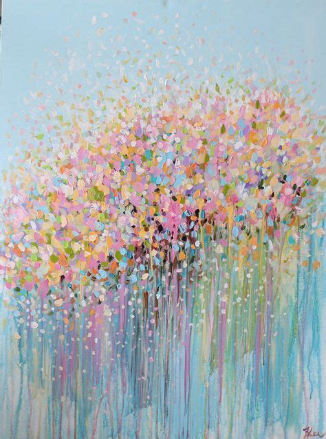 how to paint acrylic on canvas flowers best 20 abstract acrylic paintings ideas on