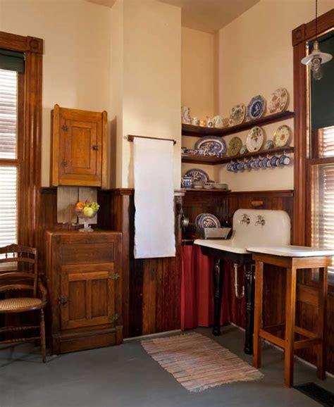 authentic victorian kitchen design  house