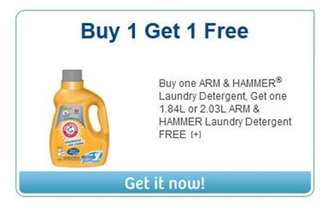 printable laundry detergent coupons canada canadian coupons buy one get free arm hammer laundry