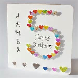 handmade 3d 5 card 5th birthday card personalised age 5 card happy birthday five years