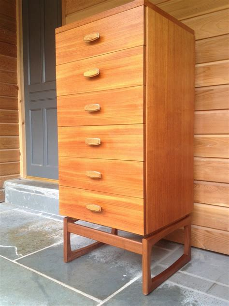 Boy Dresser Plans by G Plan Quadrille Boy Chest Of Drawers In Teak And