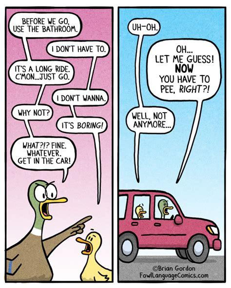 badezimmer comic just use the bathroom fowl language comics
