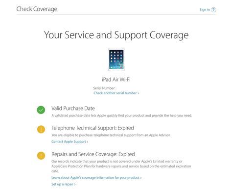 apple guarantee how to check the applecare warranty status on your iphone