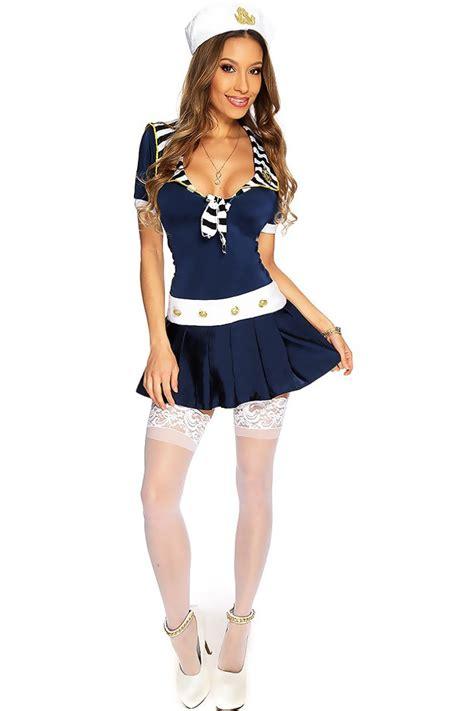 Dress Sailor navy sailor dress costume