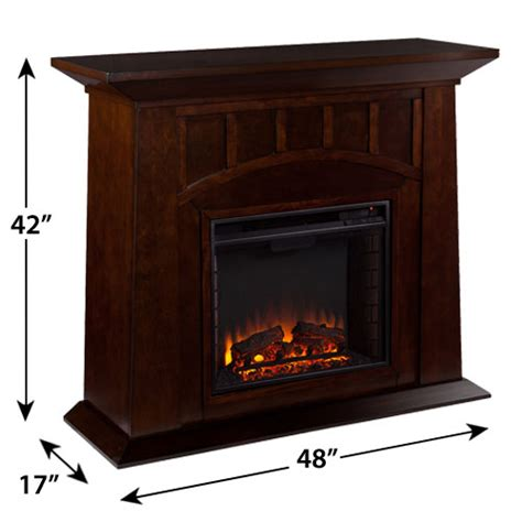 Electric Fireplace Packages by Lowery Electric Fireplace Mantel Package In Espresso Fe9668