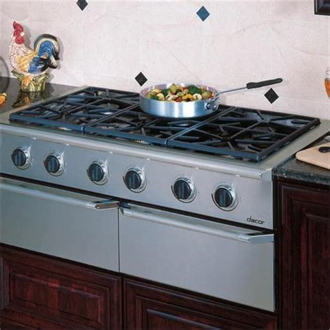 Commercial Cooktops epicure 48 quot gas cooktop esg486 from dacor
