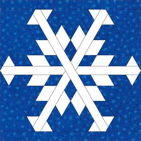 snowflake pattern block templates snowflake 3 snowflakes other and quilting