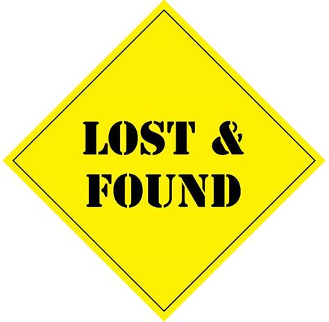 lost and found november 10 2012 newsletter