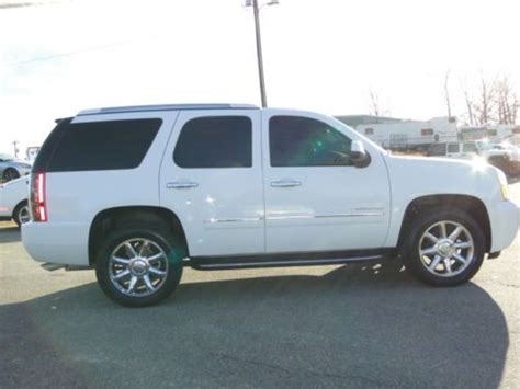 on board diagnostic system 2011 gmc yukon electronic toll collection sell used 2011 awd gmc yukon denali 4x4 rebuilt salvage title repaired light damage in