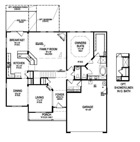 centex home floor plans awesome centex homes floor plans new home plans design