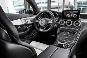 Mercedes C63 Interior New 2017 Mercedes C63 Amg Coupe Speeds After Bmw M4