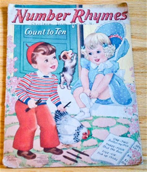 count to ten a novel books vintage children books number rhymes count to ten