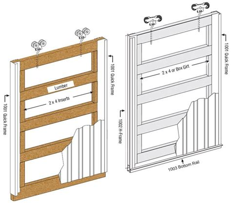 Sliding Barn Door Frame Western Products Of Indiana Sliding Door Systems 187 Sliding Door Frames