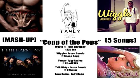 mash up songs mash up copp of the pops 5 songs youtube