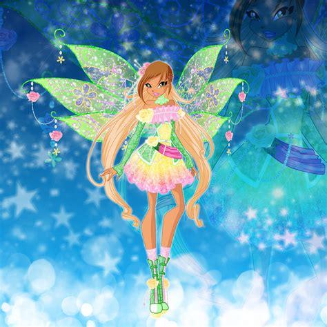 flora honix the winx club fairies fan art 36817336 fanpop