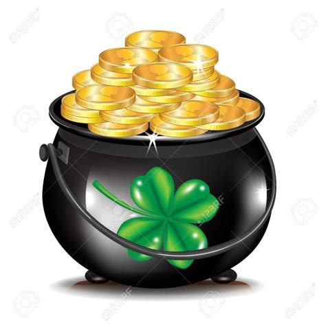 images of gold pot of gold clipart ourclipart
