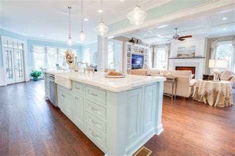Kitchen Island Pendants by Coastal Kitchen Home Stories A To Z