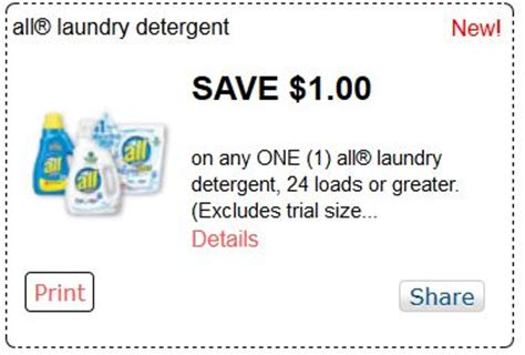 printable detergent coupons online printable coupons and deals all detergent