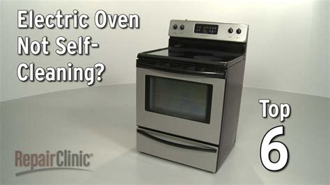 oven   cleaning electric range troubleshooting