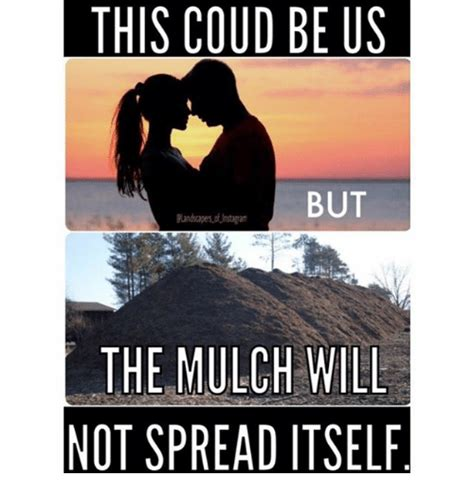 Landscaping Memes - this coud be us but the mulch will not spread itself
