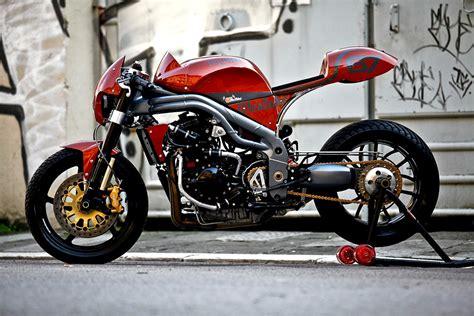 Motoräder Triumph by Triumph Weslake Olivi Motori Tre Cilindri Bestia