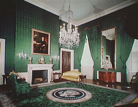 Rooms In White House by Green Room White House Museum