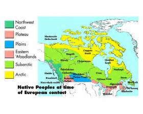 nations map of canada aboriginal perspectives