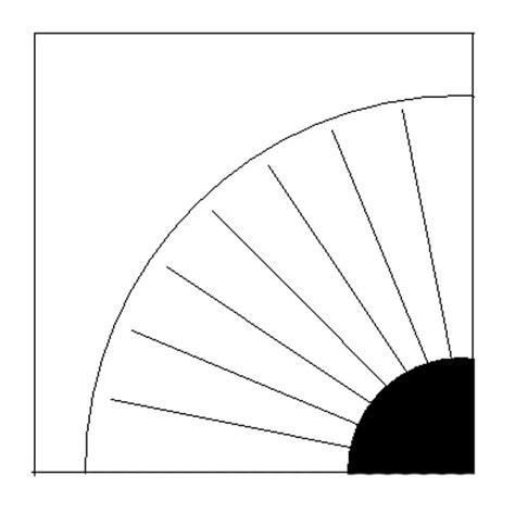 fan template paper pieced grandmother s fan pattern