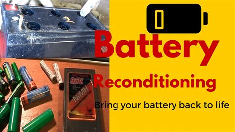 battery reconditioning battery companies pray