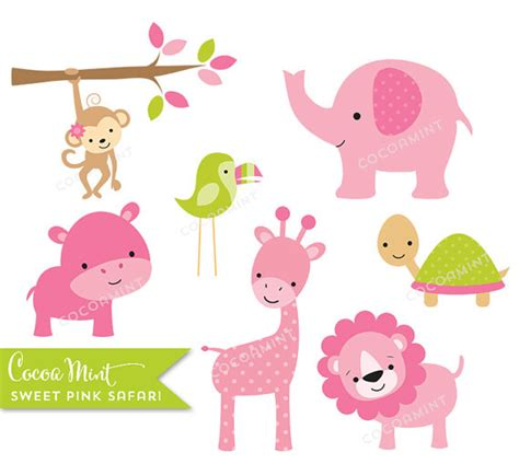 Safitri Pink pink safari clipart