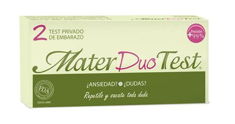 Duo Test by Mater Duo Test Higia