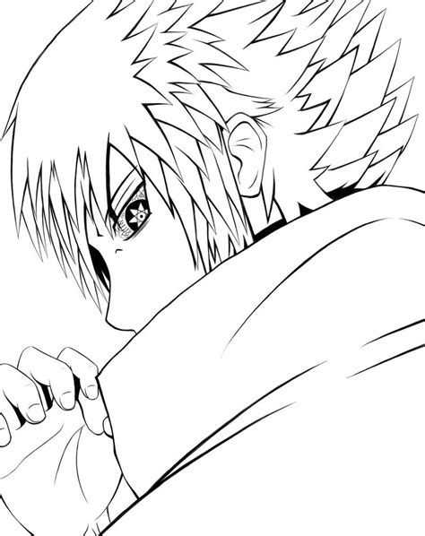 the last sasuke coloring pages coloring pages
