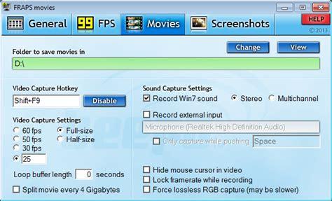 fraps full version windows 8 1 fraps alternative program like fraps recording software