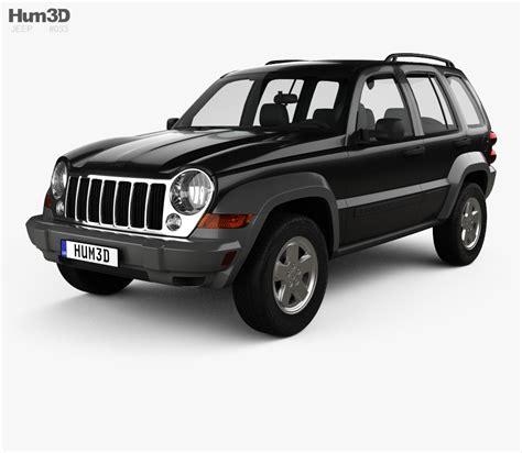 2005 Jeep Liberty Limited Edition Reviews Jeep Liberty Kj Limited 2005 3d Model Hum3d