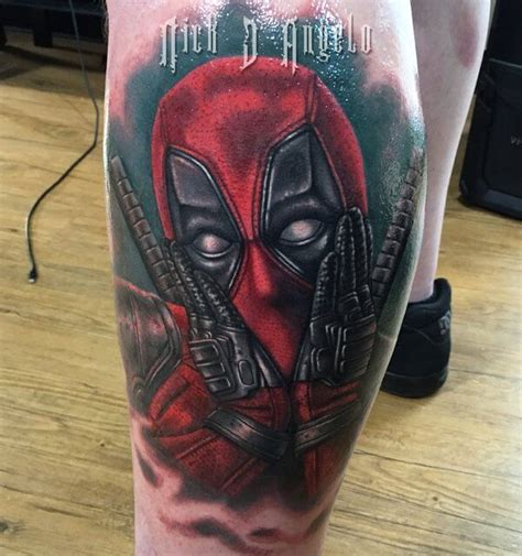 the best deadpool tattoo designs on the internet