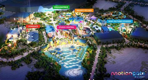 Theme Park In Dubai Motiongate Dubai Theme Park Set To Open In October 2016
