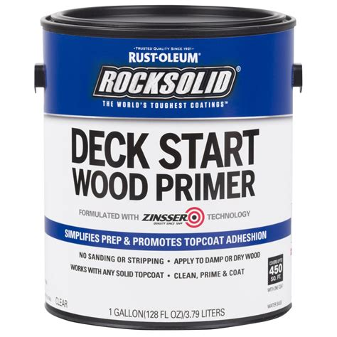 rust oleum rocksolid  gal deck start exterior wood
