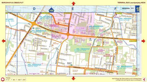 Peta Lipat Kota Cimahi peta bandung raya dan sekitarnya 2010