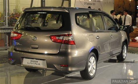 New Grand Livina Minor Change 2016 nissan grand livina facelift introduced in malaysia from