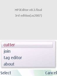download mp3 cutter symbian mp3 editor free download for symbian s60 3rd and 5th edition