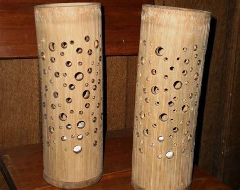membuat jemuran baju dari bambu cara membuat kerajinan lu hias dari bambu pancarkan