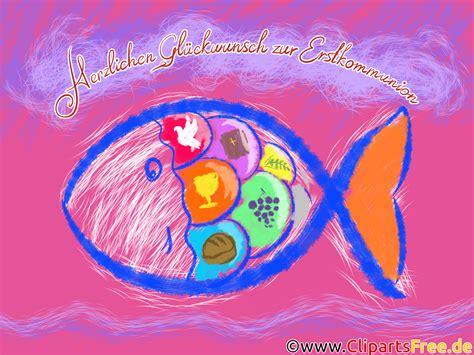 fisch kommunion vorlage glueckwunschkarte glueckwuensche zur erstkommunion